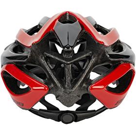 BBB Falcon BHE-01 Helm schwarz/rot